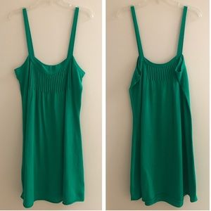 Anthropologie Moth Kelly Green Tank Dress